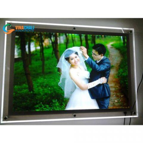 Tranh điện mica ảnh cưới 2 3